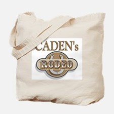 Caden's Rodeo Personalized Tote Bag