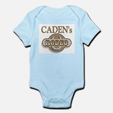 Caden's Rodeo Personalized Infant Creeper