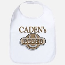 Caden's Rodeo Personalized Bib