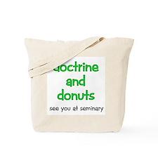 LDS Seminary Donuts Tote Bag