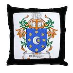 O'Duggan Coat of Arms Throw Pillow
