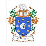 O'Duggan Coat of Arms Small Poster