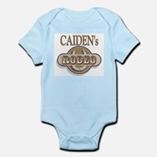 Caiden's Rodeo Personalized Infant Creeper