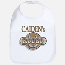 Caiden's Rodeo Personalized Bib