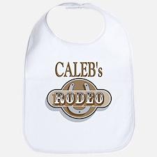 Caleb's Rodeo Personalized Bib