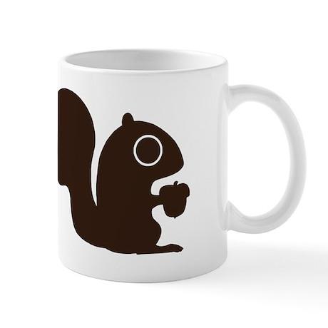 Squirrel with Nut Mug