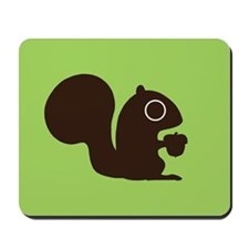 Squirrel with Nut Mousepad
