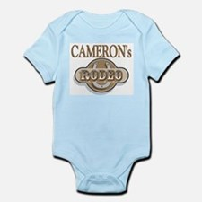 Cameron's Rodeo Personalized Infant Creeper