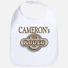 Cameron's Rodeo Personalized Bib