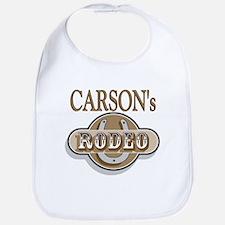 Carson's Rodeo Personalized Bib