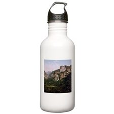 Vintage Yosemite Waterfall Water Bottle