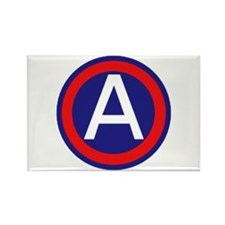 Third United States Army Rectangle Magnet