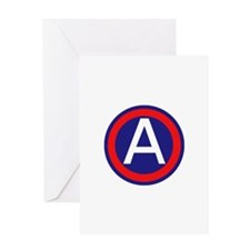 Third United States Army Greeting Card