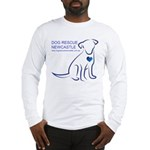 Dog Rescue Newcastle simple logo 2 Long Sleeve T-S