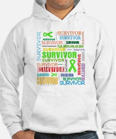 Survivor Colorful Lymphoma Hoodie