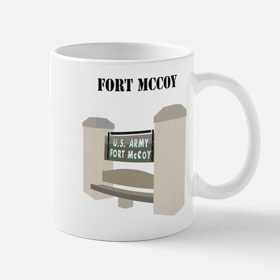 Fort McCoy with Text Mug