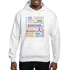 Survivor Hodgkin Disease Hoodie