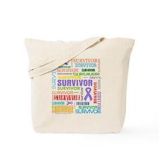 Survivor Hodgkin Disease Tote Bag
