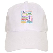 Survivor Hodgkin Disease Baseball Cap