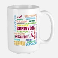 Survivor Head Neck Cancer Mug
