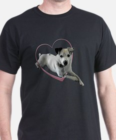 Love Jack Russell Dog T-Shirt