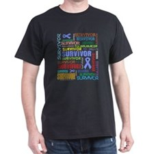 Survivor Esophageal Cancer T-Shirt
