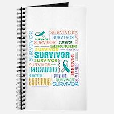 Survivor Colorful Cervical Cancer Journal