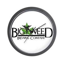 Big Weed Brewing Co. Wall Clock
