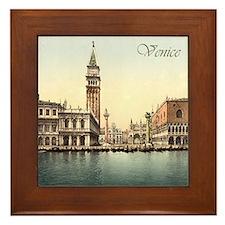 Vintage Venice Framed Tile