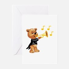 Trumpet Greeting Cards (Pk of 10)