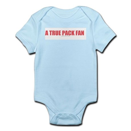A True Pack Fan Infant Creeper