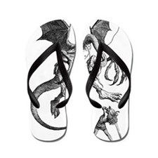 Jabberwocky Flip Flops