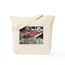 Rub Those Shoulders Tote Bag