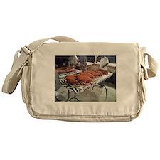 Rub Those Shoulders Messenger Bag