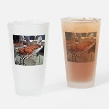 Rub Those Shoulders Drinking Glass