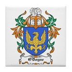 O'Doyne Coat of Arms Tile Coaster