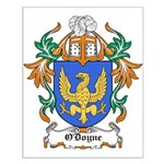 O'Doyne Coat of Arms Small Poster