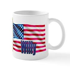 Willy Personalized USA Flag Mug