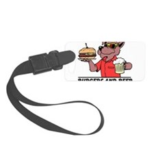 Burgers and Beer Luggage Tag