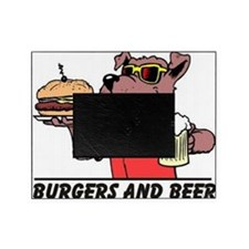 Burgers and Beer Picture Frame