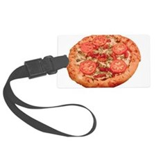 Pizza Luggage Tag