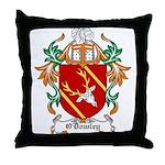 O'Dowley Coat of Arms Throw Pillow