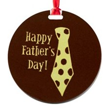 Fathers Day Tie Ornament