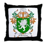 O'Dorgan Coat of Arms Throw Pillow