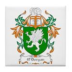 O'Dorgan Coat of Arms Tile Coaster