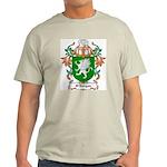 O'Dorgan Coat of Arms Ash Grey T-Shirt