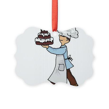 Baker Picture Ornament