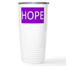 Purple Hope Travel Mug