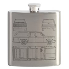 Chevy Suburban Flask