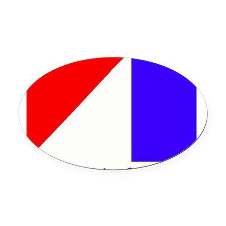 AMCLogo Oval Car Magnet